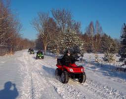 Quad - Wintertour Winter-Tour - 2,5 Stunden