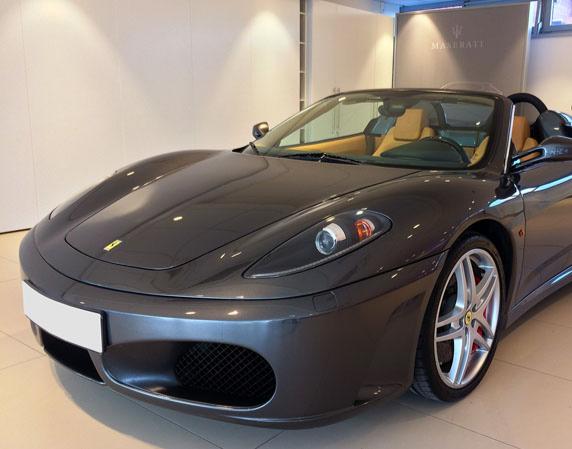 Ferrari selber fahren 30 min Mondsee Ferrari 430 Spider F1 - Ca. 30 Minuten