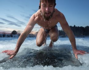 Eisbaden - St. Felix Eisbaden - ca. 3 Stunden
