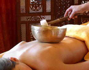 Klangschalen-Massage 40 Minuten