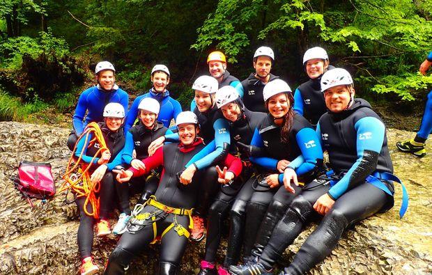 canyoning-rafting-golling-an-der-salzach-team