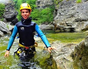 "Tagestour ""Patschnass"" - Golling an der Salzach Canyoningtour Almbach inkl. Rafting - 8 Stunden"