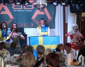 ABBA–Dinnershow - 4-Gänge-Menü - Landhaus Beckmann - Kalkar Landhaus Beckmann - 4-Gänge-Menü, inkl. Begrüßungssekt