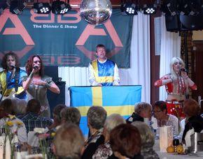 ABBA–Dinnershow - 4-Gänge-Menü - Landhaus Seela - Braunschweig Landhaus Seela - 4-Gänge-Menü, inkl. Begrüßungssekt