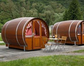 Übernachtung im Campingfass - Burgen/Mosel im Campingfass