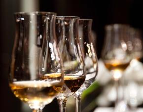 Whiskey Seminar Weinschule Krömker von 9 Sorten Whisky