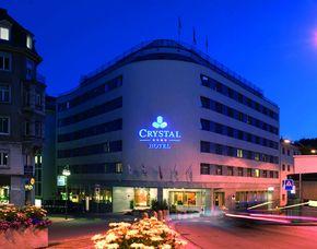 Kurzurlaub inkl. 120 Euro Leistungsgutschein - Crystal Hotel - St. Moritz Crystal Hotel