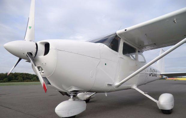 flugzeug-selber-fliegen-duesseldorf-fluggeraet