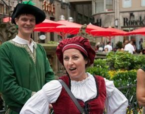 Stadt-Kult(o)ur - Kabarettistische Stadtführung (Mit Kölsch) Kabarettistische Stadtführung