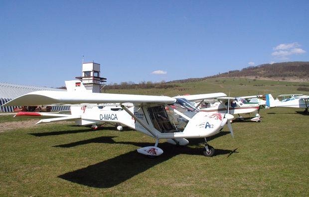 flugzeug-rundflug-thueringen-suhl-flugplatz