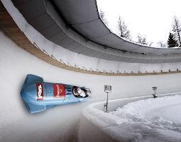 Rennbobtaxi fahren Rennbobtaxi fahren - Olympia Eiskanal