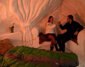 Igloo duo Avoriaz im 2er-Iglu - Käsefondue & Champagner