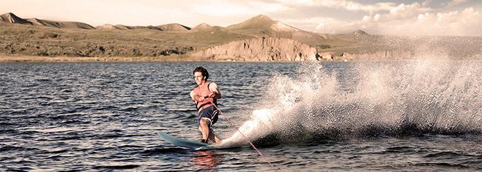 Wasserski fahren