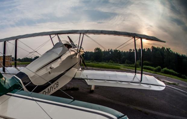 doppeldecker-rundflug-weiden-panorama
