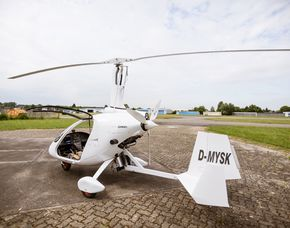 Tragschrauber selber fliegen - 45 Minuten in einem geschlossenen Tragschrauber - 60 Minuten