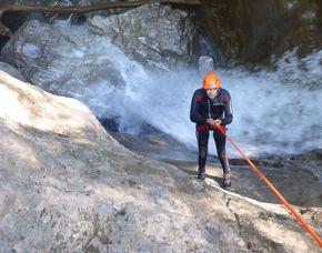Canyoning Fortgeschrittenentour - Dornbirn Fortgeschrittenentour  - ca. 6 Stunden