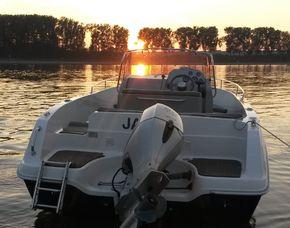 Romantische Bootstour - Herbst/Wintertour - Ginsheim-Gustavsburg Rhein, inkl. 1 Heißgetränk - ca. 2 Stunden