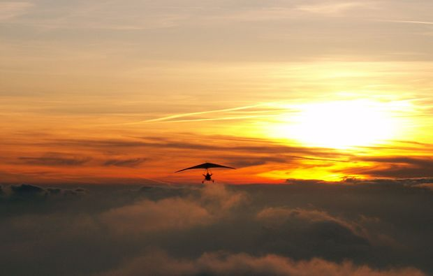 trike-rundflug-sierksdorf-sonnenuntergang