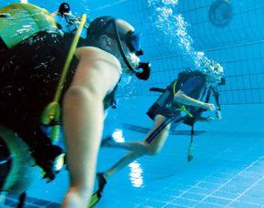 Tauchschnupperkurs-Pool - Olpe Schnupperkurs - Pool - 3 Stunden