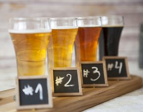 Bierverkostung von 6 Sorten Bier & 3-Gänge-Menü