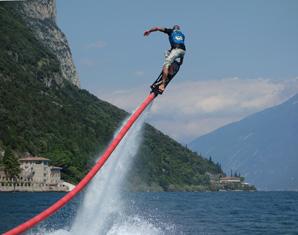 Hoverboarden Porto di Tignale