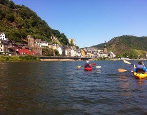 Kanu Tour (Ernst bis Treis-Karden) Mosel - ca. 4 Stunden