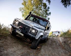 Geländewagen fahren Land Rover S III - 90 Minuten