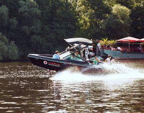 Powerboot fahren - Templiner See, bis zu 4 Personen - ca. 1 Stunde Templiner See, bis zu 4 Personen - ca. 1 Stunde