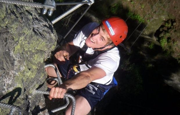 Klettersteigset Innsbruck : Klettersteig karwendel innsbrucker nordkettensteig teil