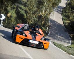 KTM X-Bow fahren Chiemsee