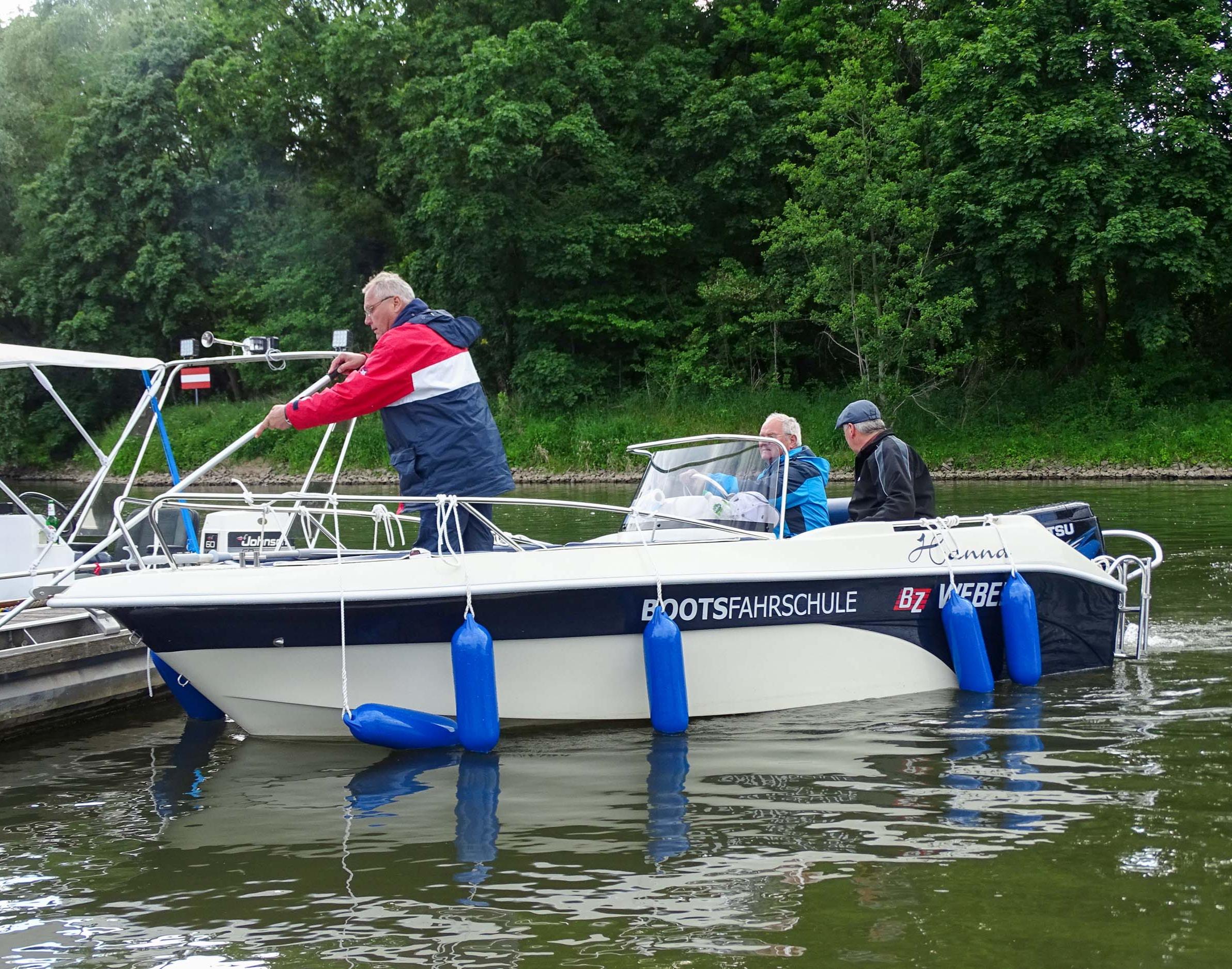 Motorboot fahren Halle (Saale)