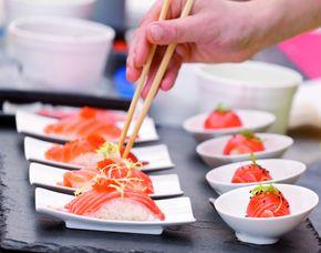 Sushi Restaurants (Sushi-Mittagsmenü) - Berlin, Rosenthaler Straße Mittags- und Abendmenü, inkl. Tee & Wein