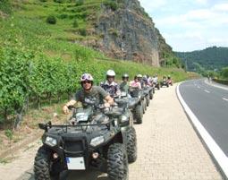 Quad Tour Mosel Panoramatour Löf Erlebnis-Tour Mosel-Eifel-Hunsrück - 3,5 Stunden