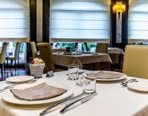 Schlemmen und Träumen für Zwei Hotel Silver - 3-Gänge-Menü, Transfer