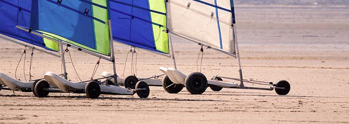 Strandsegeln & Kitebuggy