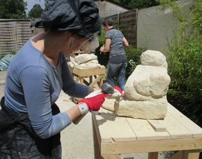 Bildhauer-Workshop - Essen mit Baumberger Sandstein, 2 Tage