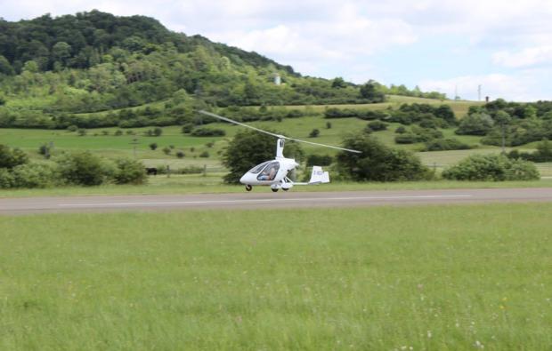 tragschrauber-giessen-rundflug-landung