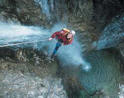Canyoning  Lenggries Sylvensteinsee - Ca. 4 Stunden