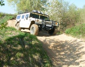 Hummer H1 offroad fahren 30 Minuten - Wandlitz OT Basdorf Hummer H1 - 25 Minuten