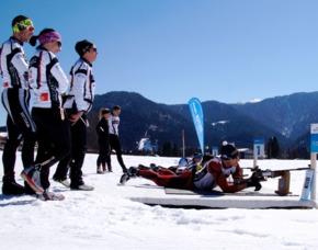 Biathlon-Schießtraining - Reit im Winkl Schießtraining - 60 Minuten