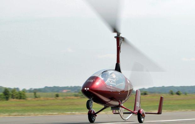 tragschrauber-rundflug-bayreuth-gyrocopter-start
