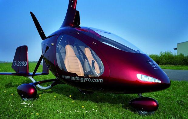 tragschrauber-rundflug-bayreuth-gyrocopter-weinrot