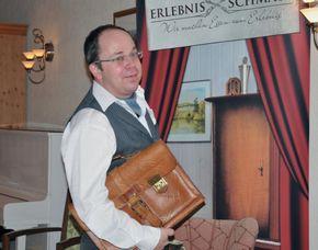 Kultur-Dinner - Heinz Erhardt - Thüringer Kloßhotel - Arnstadt Heinz Erhardt Abend - 4-Gänge-Menü, inkl. Begrüßungsgetränk