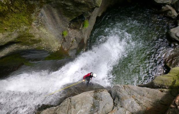 canyoning-auerklamm-tour-sautens-wasserfall
