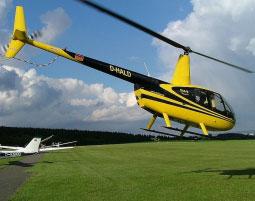 Gourmetflug für Zwei Dermsdorf 30-35 Minuten - 3 Gänge Menü