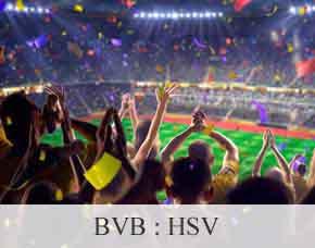 2016/2017 - BVB: Hamburger SV  - Stehplätze Stehplatz Tickets - Übernachtung im 3-Sterne Hotel
