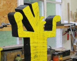 Bildhauer- Workshop mit Holz und Stein (Wochenendkurs) Neckartenzlingen mit Holz und Stein, Wochenendkurs