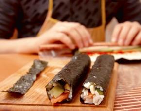 Asiatisch / Sushi Kochkurs Online-Seminar Inkl. Rezepte
