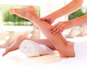 Ganzkörpermassage Fußbad