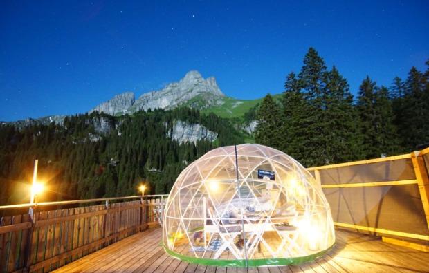 bubble-uebernachtung-kleinwangen-traumhaft